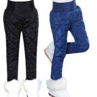 2017 Kids Leggings Girls Duck Down Pants