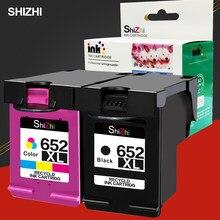 Cartucho de Tinta Compatível Para O HP 652 652XL SHIZHI HP Deskjet 1115 1118 2135 2136 2138 3635 3636 3835 4535 4536 4675 printer