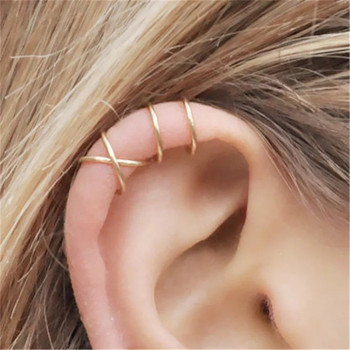2018 Female Earrings Gold Sliver Color Stud Earrings Fashion Simple Geometric Statement Earrings For Women Party Jewelry Gift дамски часовници розово злато