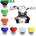 7 видов цветов Мотоцикл Байк эндуро мотокросса супермото 12V маска на фару для KTM Honda Suzuki Yamaha Kawasaki BMW Универсальный