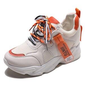 Image 5 - SWYIVY Mesh Ladies Sneakers Fashion Platform Sneakers Women 2020 Summer Shoes Woman Casual Shoes Women Casual Sneaker Breathable