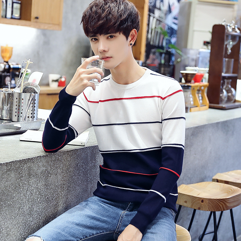 Brand 2017 New Autumn Winter Casual Sweater Men Fashion Long Sleeve Pullovers