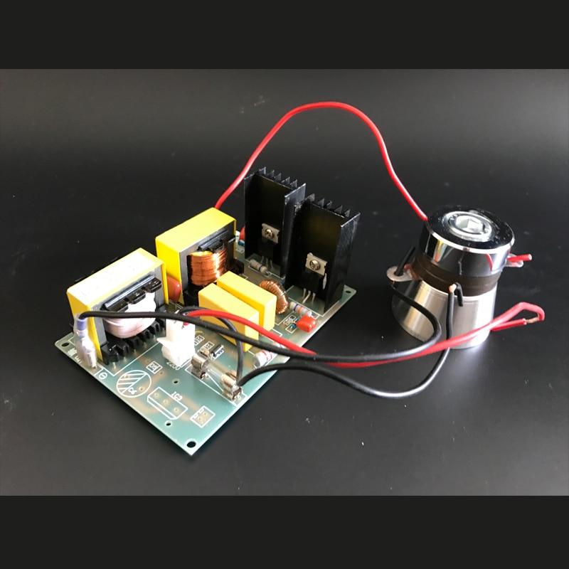 40 кГц ультразвуковой пьезокерамический датчик генератор PCB 60 Вт/220 В, цена включая соответствующие преобразователи, питание электропривода