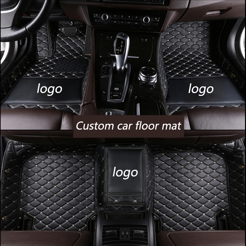 Image 4 - kalaisike Custom car floor mats for Alfa Romeo Giulia Stelvio 2017 auto styling car accessories-in Floor Mats from Automobiles & Motorcycles
