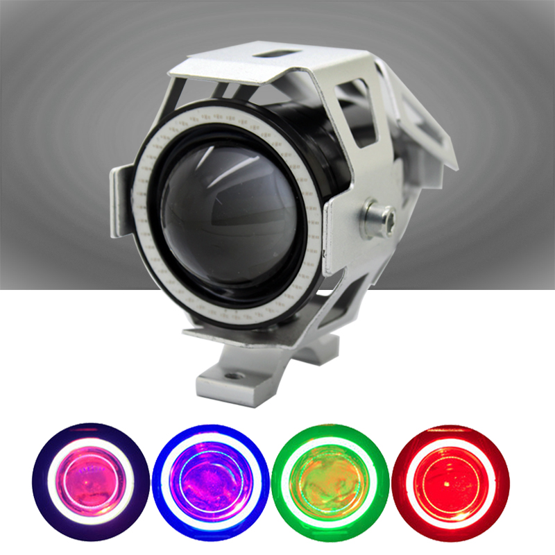 SUNKIA 2Pcs / Lot Devil Eye 12-80V CREE Chip U7 LED Avtomobil DRL - Avtomobil işıqları - Fotoqrafiya 2