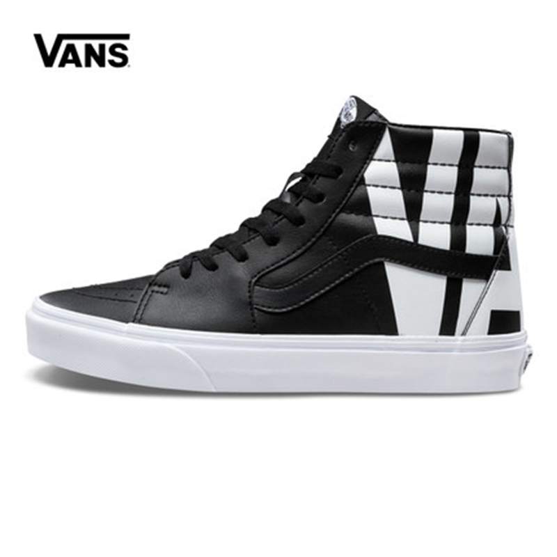Original New Arrival Vans Men's & Women's Classic Sk8-Hi Skateboarding Shoes Sneakers Canvas Comfortable VN0A38GEUBC/UBD
