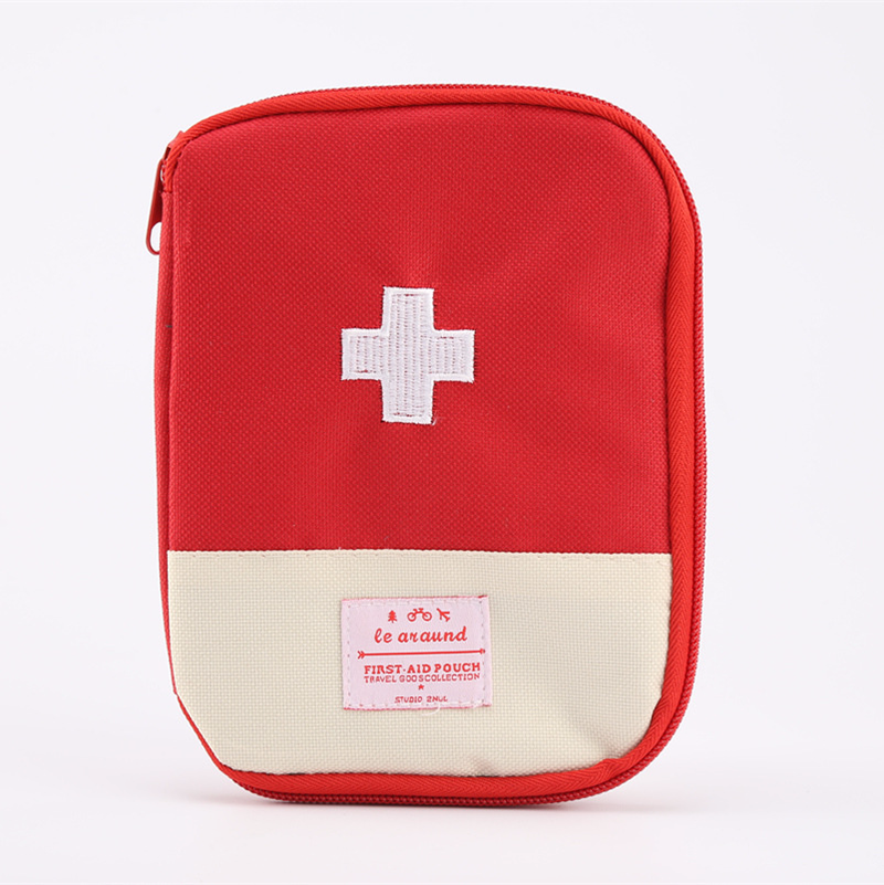 Outdoor travel portable mini portable medicine kit first aid kit medicine medicine box small storage bag medical kit