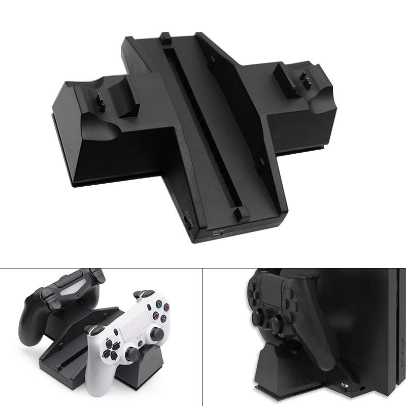 Pour PS4 accessoires PS4 console de jeu support Vertical PS4 Gamepad chargeur support support pour SONY Playstation 4 PS4 manette