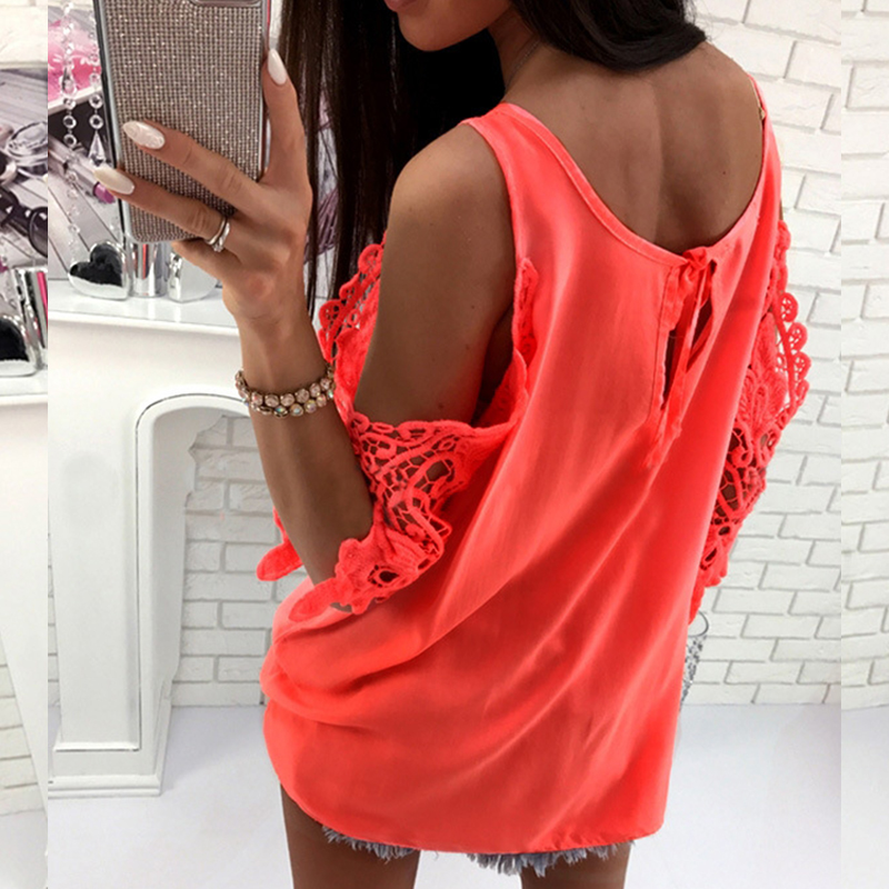 Flight Tracker Women Top Female Blusa 2019 Women Sexy Sling Off Shoulder Blouse Long Sleeve Shirt Casual Loose Solid Color Bandage Blouses Back To Search Resultswomen's Clothing