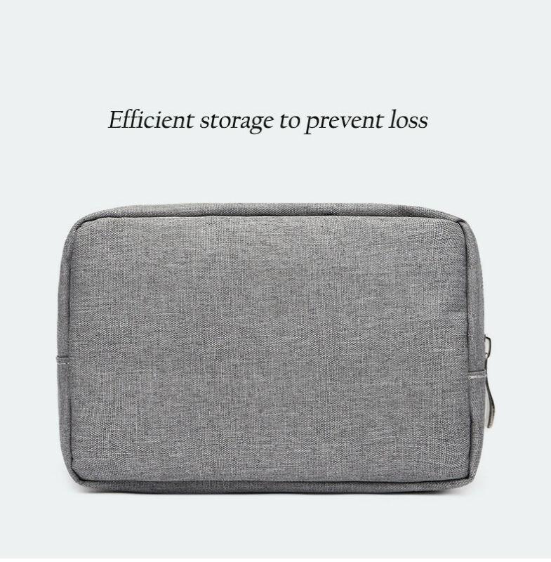 Portable Travel Storage Organizer Bag Case Digital USB Cable Earphone Electronic Storage Bags