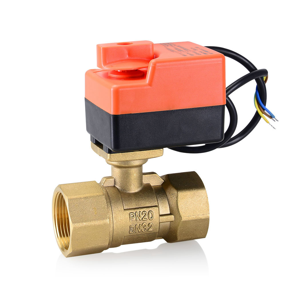 2 way electric modulating valve  modulating for flow regulation   Ball Valve proportion valve 220V 24V 1 2 proportion valve 2 way ac dc24v electric modulating valve 0 10v modulating for flow regulation or on off control