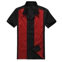 Men S Clothing 1950 S Swing Party Shirt Vintage Large Size UK Rock N Roll Shirts