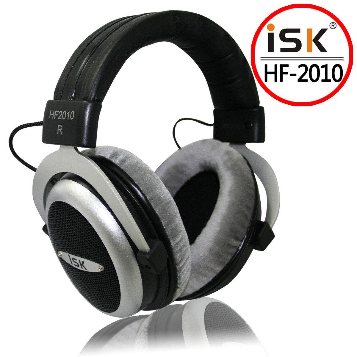 Casques stéréo Semi-ouvert d'origine ISK HF2010 écouteurs stéréo Studio enregistrement casque Audio casque antibruit - 3