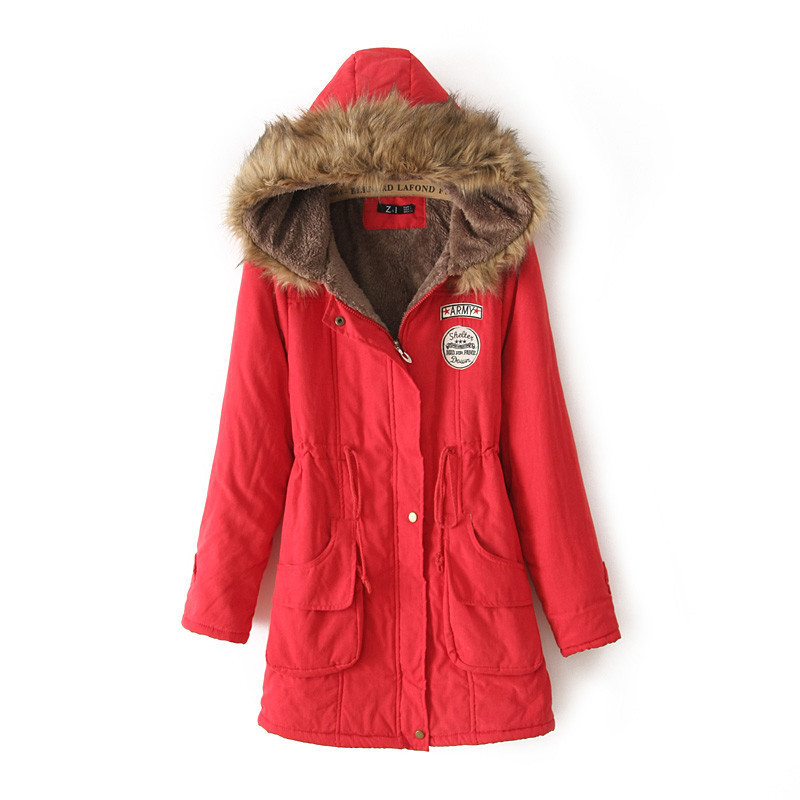 Plus Size S XXXL New Women s Slim Hooded Thick Winter Snow Cotton Warm Jacket Coat