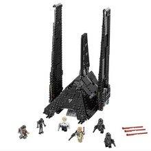 05049 LEPIN STAR WARS Krennics Imperial Navette Modèle Bâtiment Classique Éclairent Figure Jouets Pour Enfants Compatible Legoe
