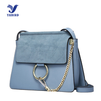 YUBIRD Womens Bags With Ring Shoulder Bag Designer Famous Brand Nubuck Leather Chain Messenger Bag Crossbody