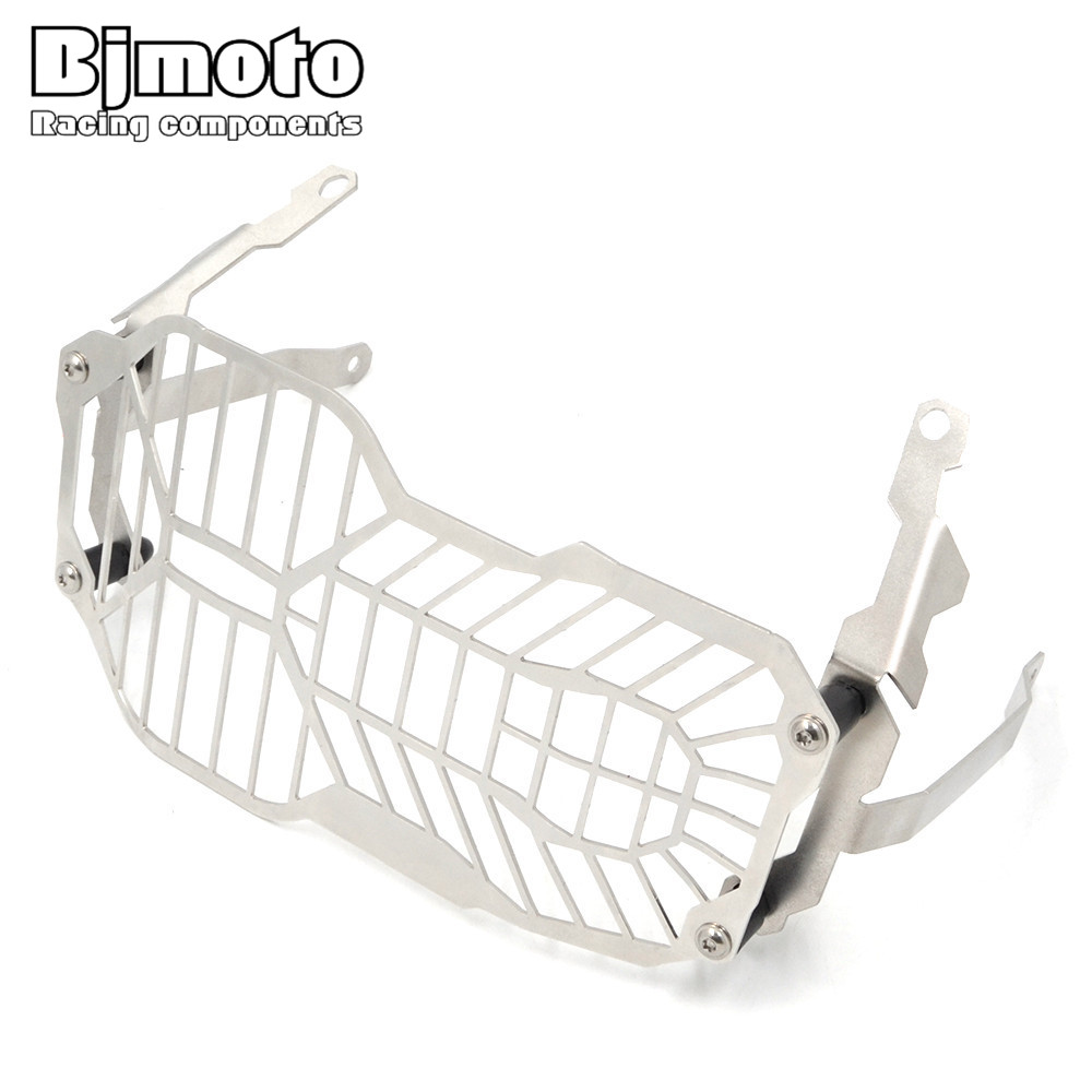 BJMOTO For BMW R1200 GS R1200GS Adventure R 1200GS Water Cooled models 2012-2016 Headlight Cover Protector Grill Head light r1200gs motorcycle headlight grill guard cover protector for bmw r 1200 gs r1200gs adv adventure r 1200gs 2012 2016