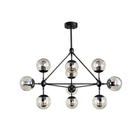 New Modern Magic Beans DNA Lustres Pendant Light Idustrial Modo Lamps Nordic Art Deco Glass Ball Hanging Lighting