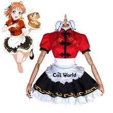 Kleid Uniform Schürze Liebe
