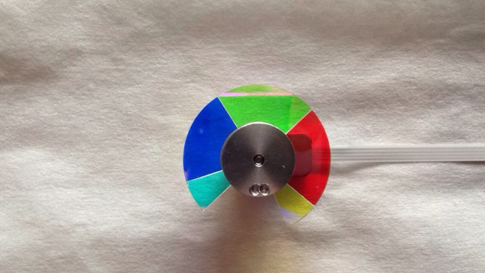 Projector Color Wheel For ACER X1237 X1110 mp620 mp622 mp625 projector color wheel mp620 mp622 mp625