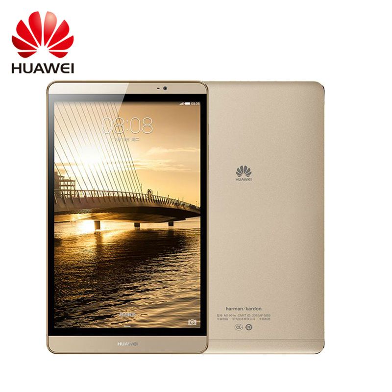 Original Huawei Mediapad M2 8.0 Inch WIFI/LTE Metal Tablet Kirin 930 Octa Core 64GB ROM 3GB RAM 8.0MP Multi languages