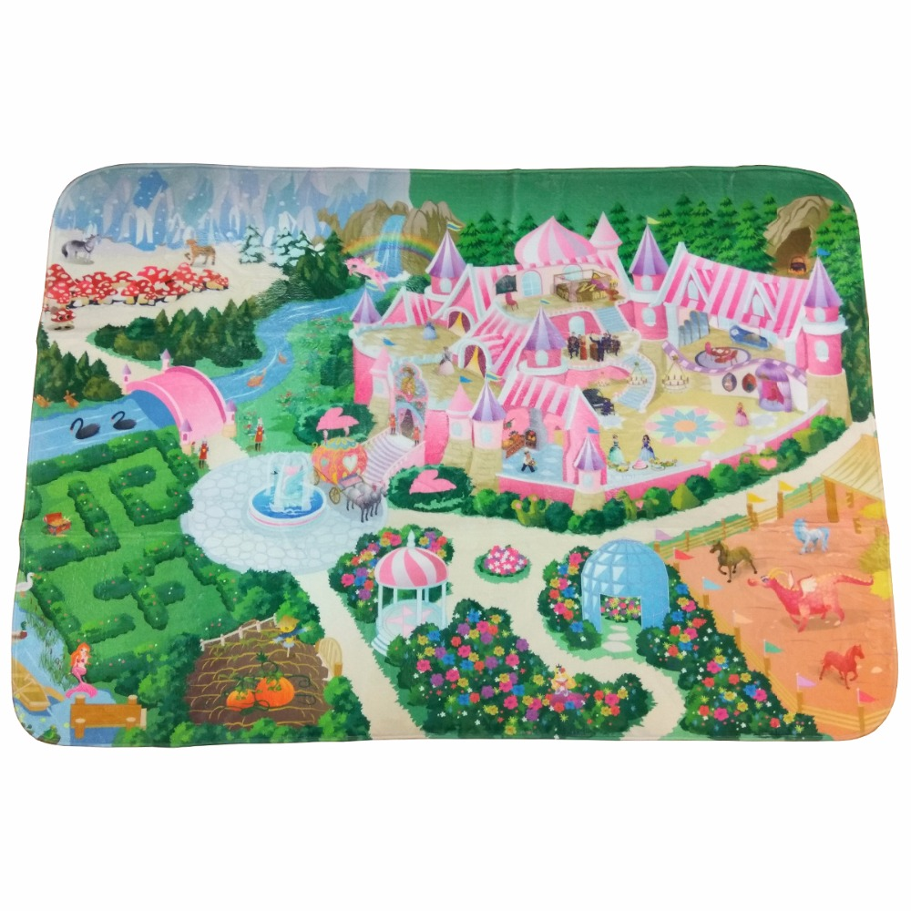 [Available from 10.49] Children's ultra-soft play pad Lock 180 * 130cm light green blue pink Teplo kid TK-US-02 все цены