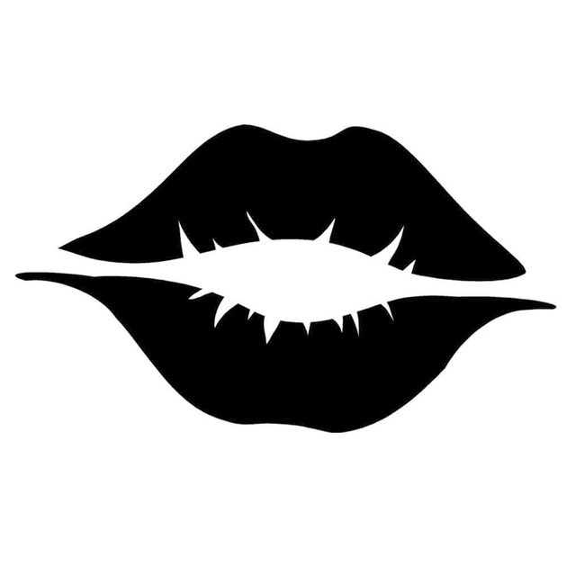 cfba41b982e Wholesale 10pcs lot 20pcs lot Sexy Lips Funny JDM Sticker Fits Car Window  Truck