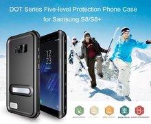 Redpepper Водонепроницаемый случае Дайвинг Подводные водонепроницаемый чехол для Samsung Galaxy S8 плюс Жесткий PC + TPU Панцири крышка с Подставки
