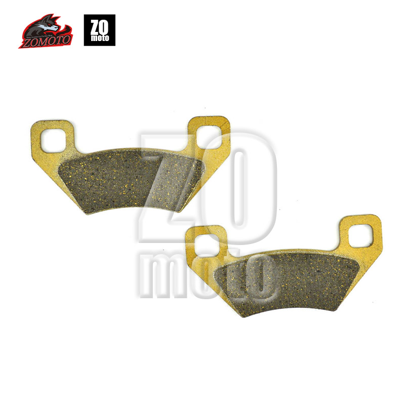 ZOMOTO 2016  MOTOCYCLE  Disc Brake Pads FA395 fit for ARCTIC CAT ATV 250 2X4 UYILITY XC450I 550I 700I GT CAN AM DS 450 JOHN 1999 2000 arctic cat 250 2x4 kevlar carbon front brake pads