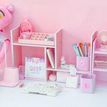 Розовое дерево объекты файловых систем лоток для документов журнал Органайзер DIY аксессуары стола Органайзер письменный прибор