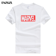 ENZGZL одежда летние футболки мужские MARVEL хлопок короткий рукав Футболка облегающая Мужская футболка с круглым вырезом XS S M L XL уличная одежда