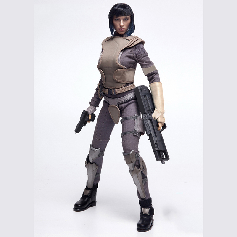 1/6 Scale Ghost in the Shell kusanagi motoko Full Set Figures Body Head Clothes and Accessories for Toys Gifts Collections laying the ghost