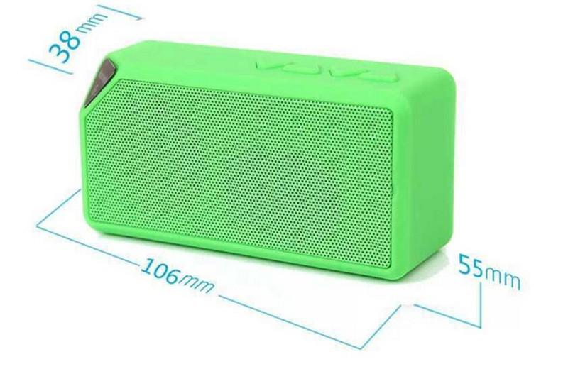 Bluetooth Speakers Wireless Bluetooth Speaker Mini Portable Magic Cube Bluetooth Speaker Bass blue normal 11