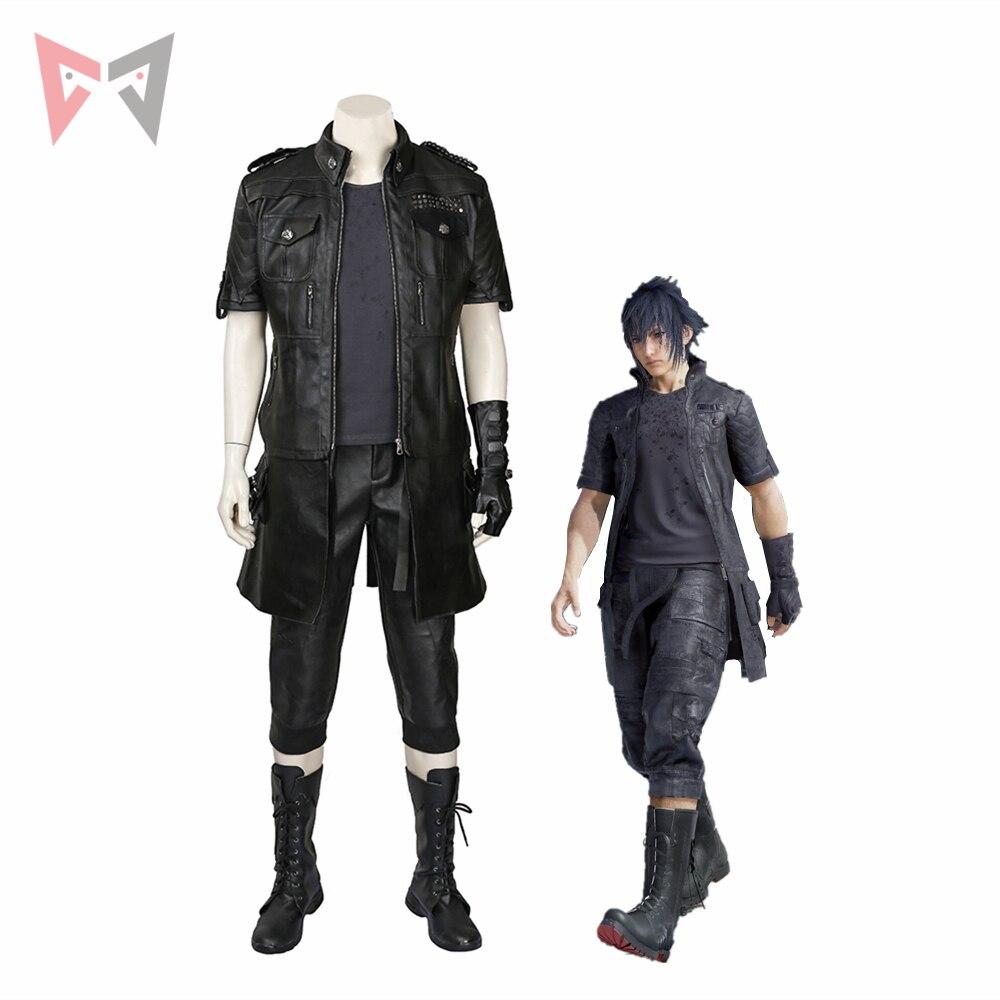 MMGG Final Fantasy XV cosplay  Noctis Lucis Caelum cosplay Costume custom made set High Quality