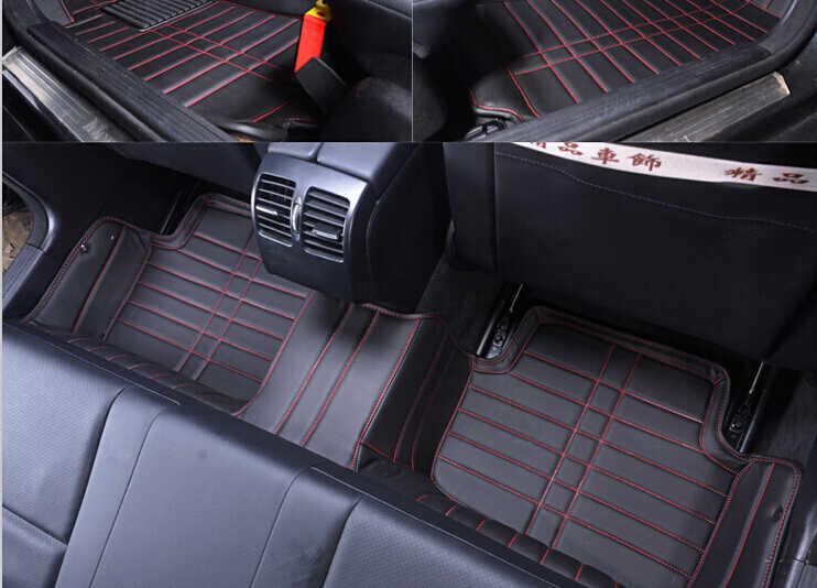 RHD no olor completamente rodeado de coche especial alfombras de piso para la mano derecha conducir 220i F45 resistente al agua alfombras