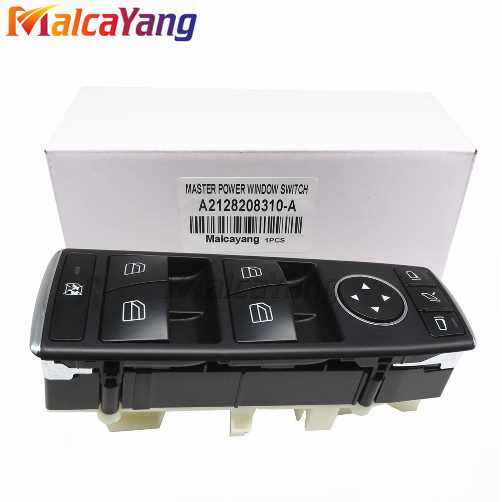 A2128208310 2128208310 Car Accessories For Mercedes W204 W212 C E Class Drivers Side Electric Window Switch