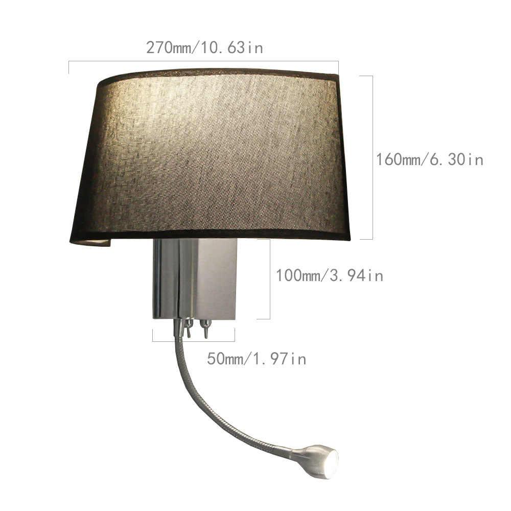 E27 настенный светильник современная люстра, светильники ванная комната гостиная отель спальня Лофт декоративные бра ночное освещение светодиодный настенный светильник
