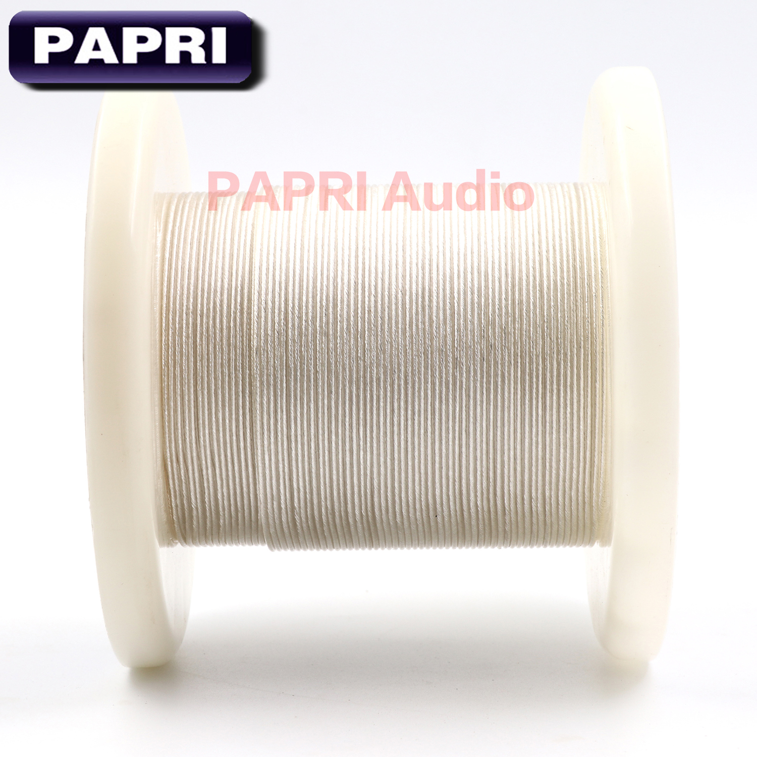 PAPRI Newest GM03 DIY Upgrade Headphone Cable 4N OCC Silver Wire Hifi For Earphone Headsets Line Audio Litz Structure 49 Cores