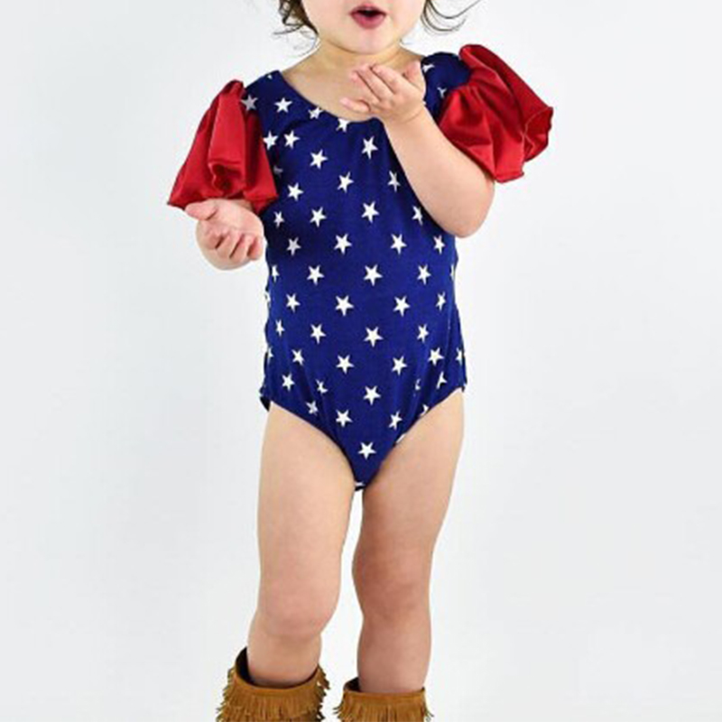 New Baby Girls Clothes Summer Flower Baby Girls Bodysuit 0-24M Newborn Infant Toddle Bebes One-Pieces Body Suit Costume