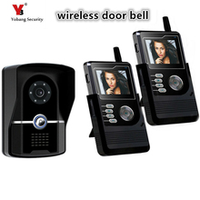 Yobang Security Free Shipping wireless Night Vision 2.4Ghz Video Door phone Intercom System Auto take pictures IR Camera