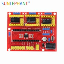 US $1.35 |SUNLEPHANT CNC Shield V4.0 Board Compatible with Nano-in Integrated Circuits from Electronic Components & Supplies on Aliexpress.com | Alibaba Group