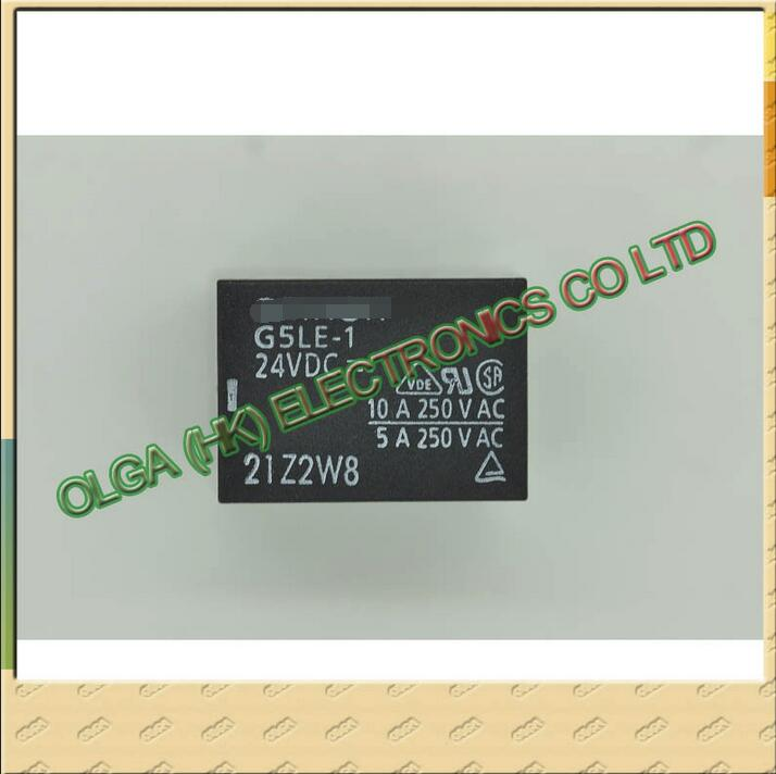 New And Original   Relay G5LE - 1-24 V G5LE - 1 - 24V