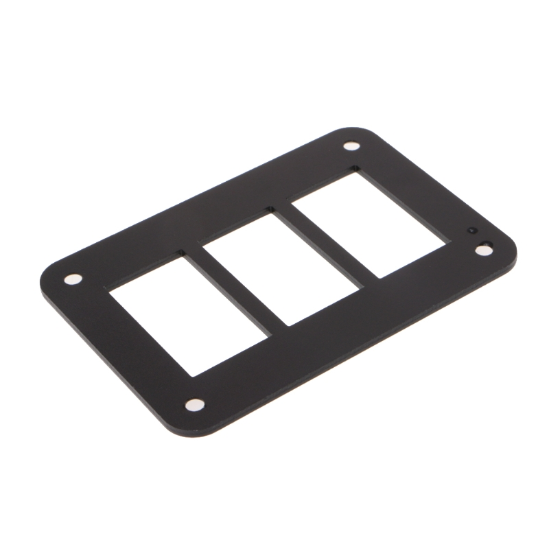 New Boat Rocker Switch Panel 2/3/4/6 Way Housing Holder For Carling Car-Styling Auto Switches
