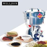 Multifunctional stainless steel2000g Portable Grinder Herb Food Flour Pulverizer Medicine Mill Grinding Machine