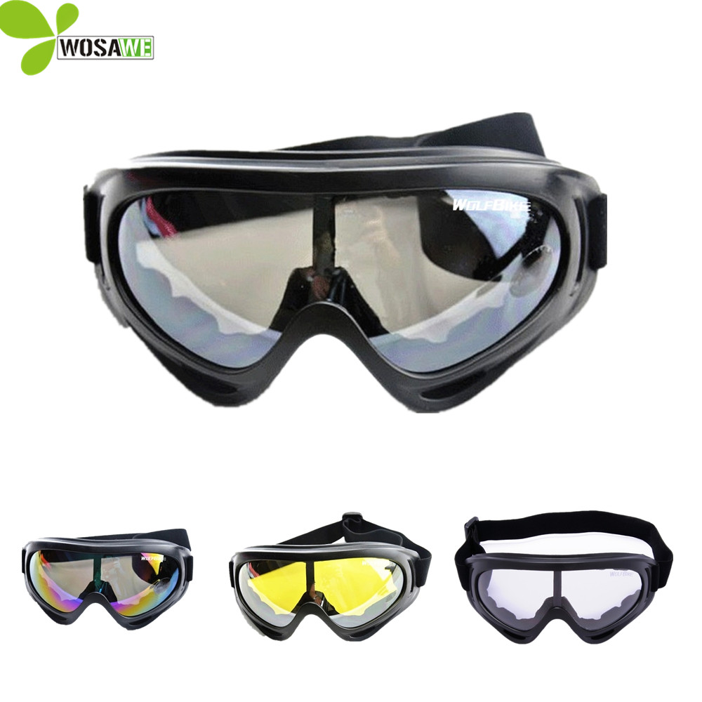 UV Protection Sports Ski Goggles Skate Eyes Protective Glasses Motorcycle Off-Road Airsoft Eyewear Skateboard Snowboard Glasses