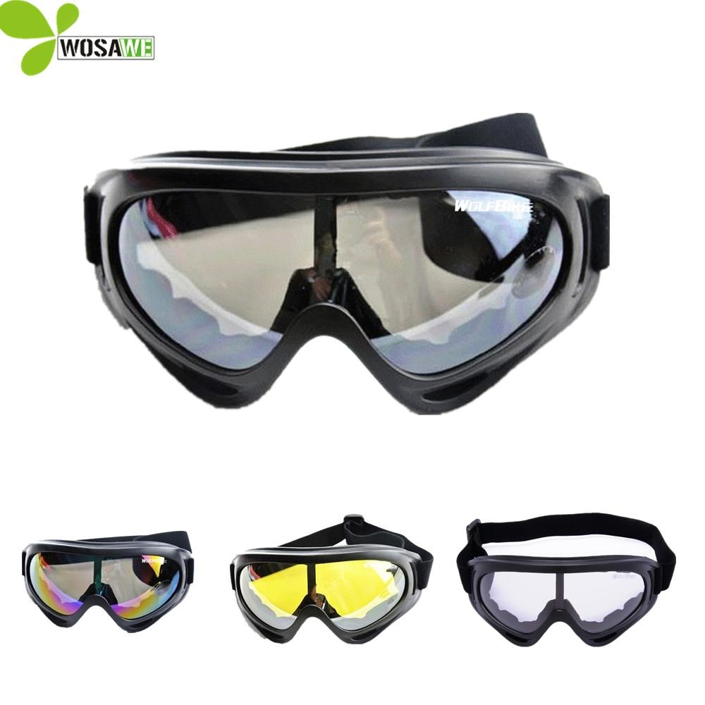 UV Protection Sports Ski Goggles Skate Eyes Protective Glasses Motorcycle Off-Road Airsoft Eyewear Skateboard Snowboard Glasses