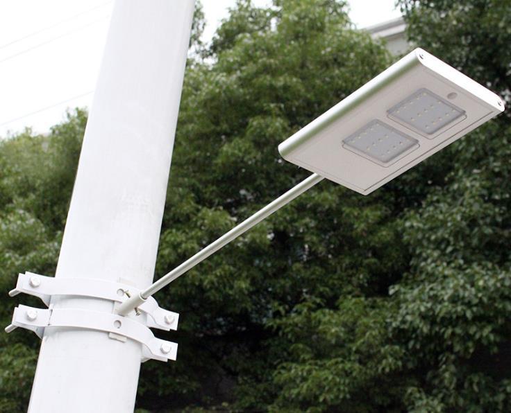 30 Led Solar Powered Panel Led Street Light Solar Sensor