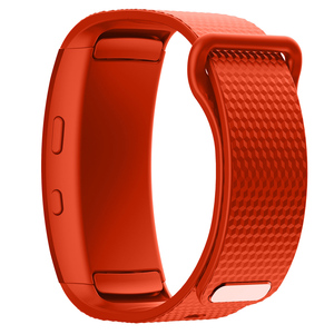 Image 4 - Silicone Sport Watch band For Samsung Gear Fit2 Pro fitness Watch bands Wrist Strap For Samsung Gear Fit 2 SM R360 Bracelet