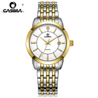 CASIMA Women's Watches Top Brand Luxury 100m Waterproof Ladies Gold Watch Women 2018 relogio feminino Steel Bracelet Clock