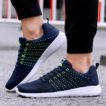 Купить с кэшбэком 2019 Summer Hot Sale Stylish  Running Shoes for Men Air Mesh Men Shoes Breathable Lightweight Sports Shoes Male Gym Sneakers